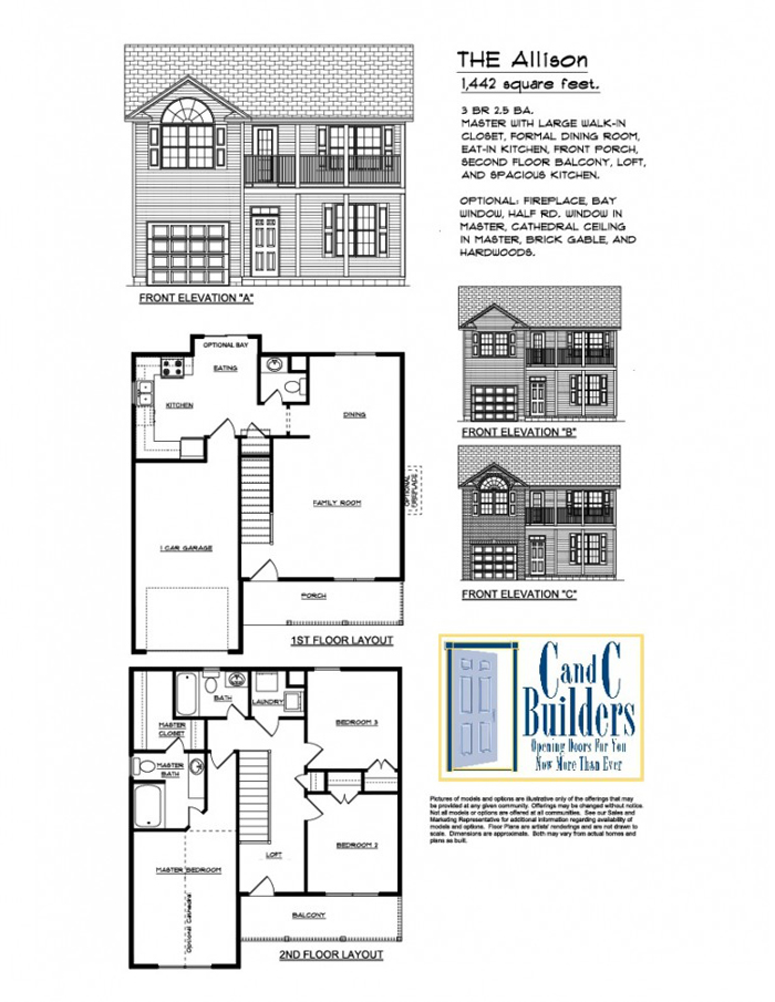 Allison Floorplan