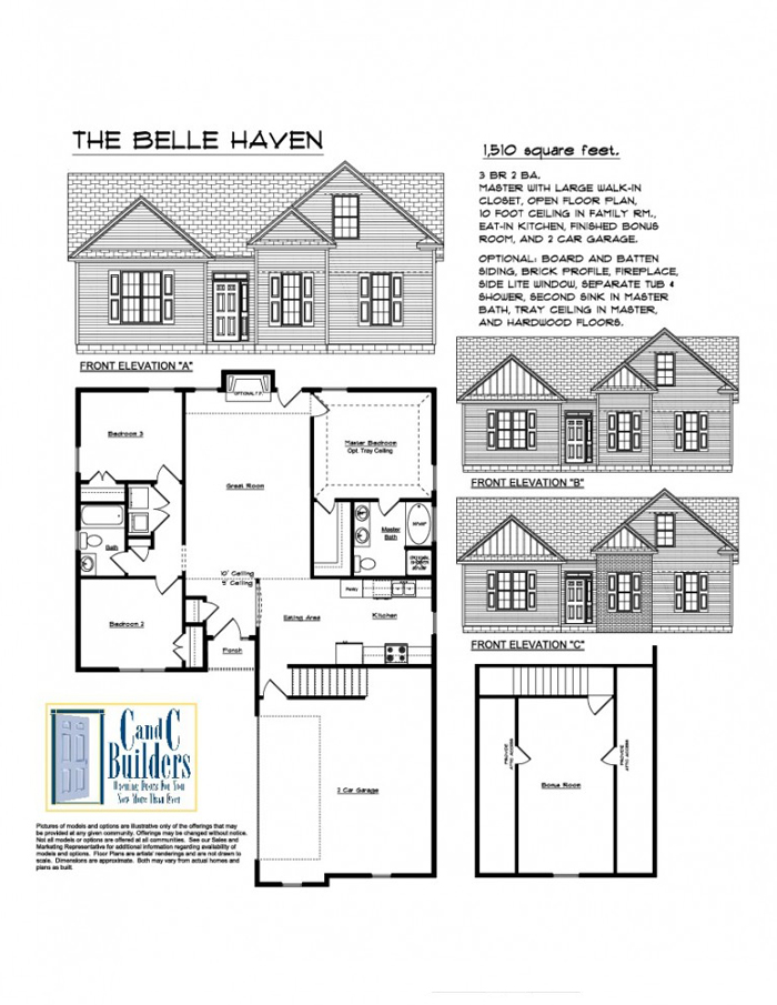 Belle Haven Floorplan