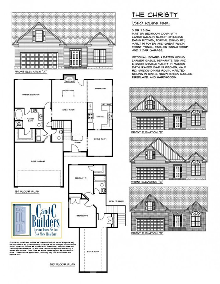 Christy Floorplan
