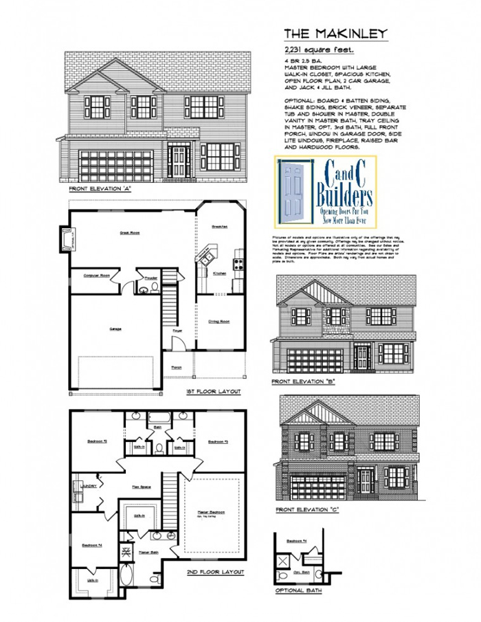 Makinley floorplan