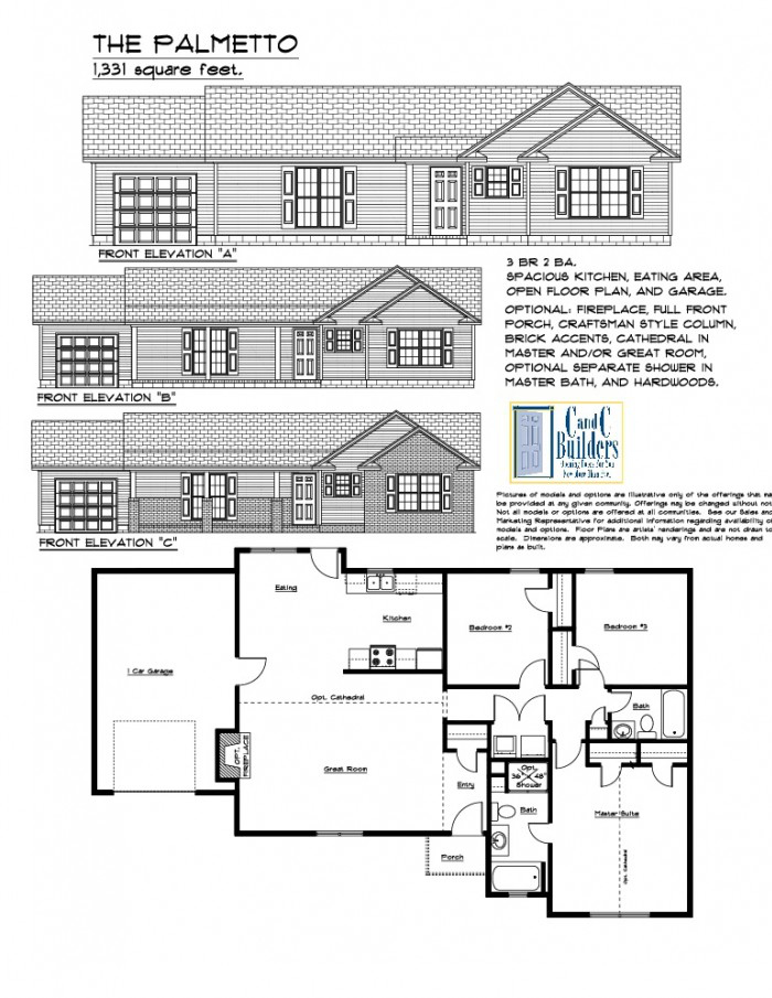 Palmetto Floorplan