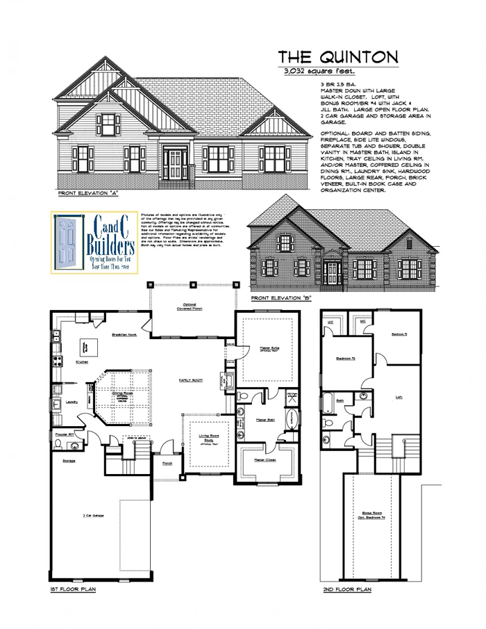 Quinton floorplan