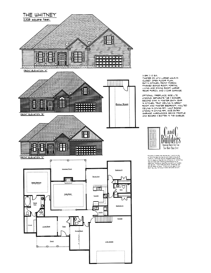 Courtney A Floorplan